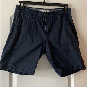 H&M Navy Shorts, Men's, 30